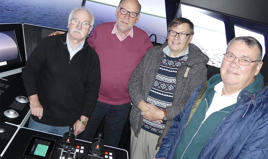 former nautical college students