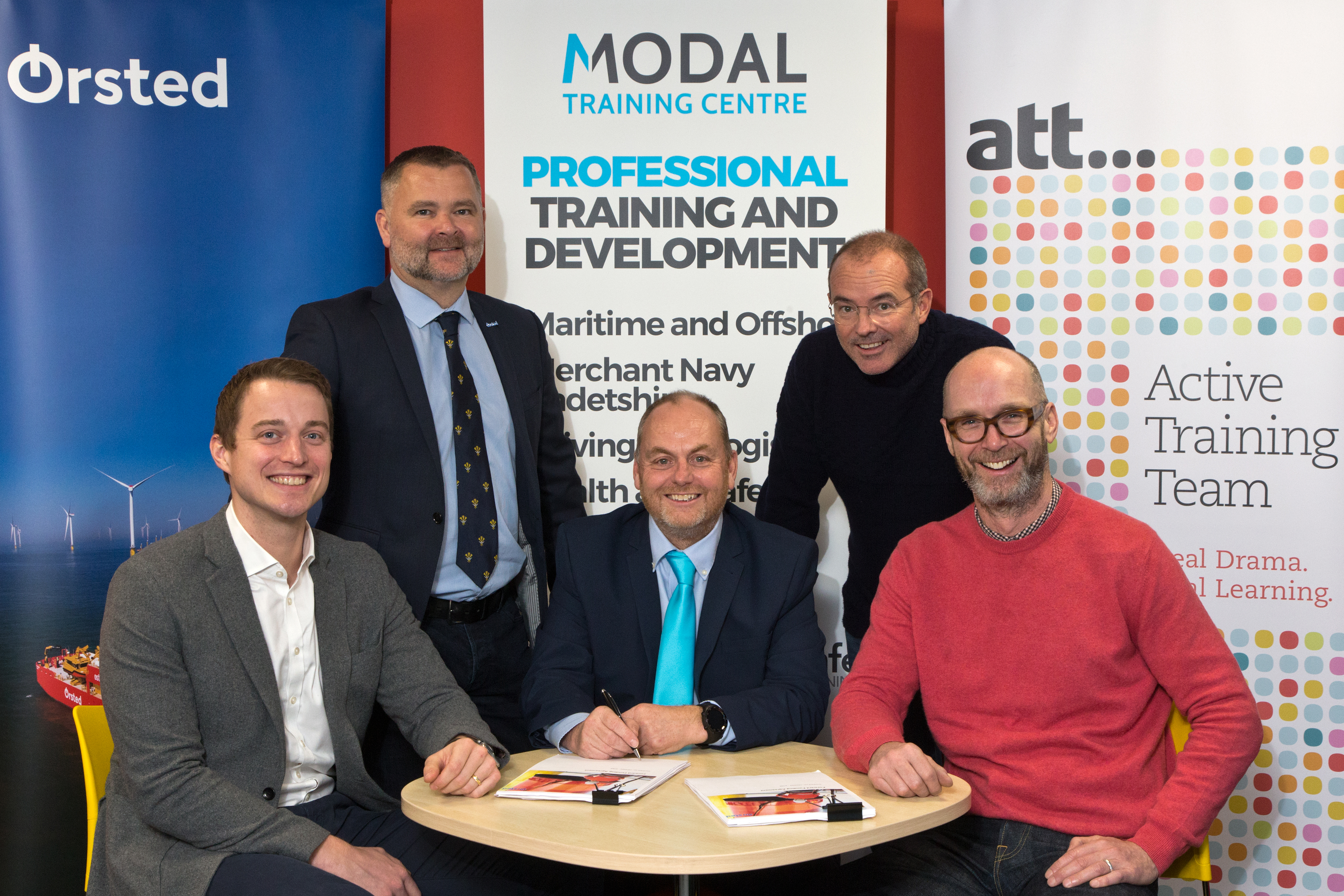 Orsted-ATT-ModalTrainingCenre-Collaboration