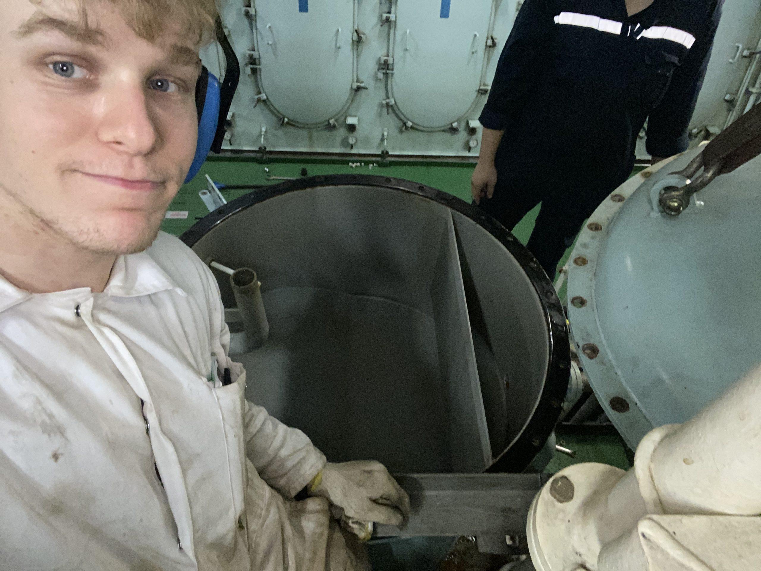 Alex tamas - engineering cadet 1
