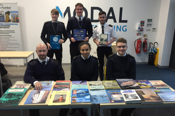 90 Merchant Navy books donated to Humber Maritime College
