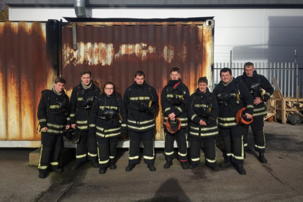 Deck cadets complete Fire Fighting and Fire Prevention