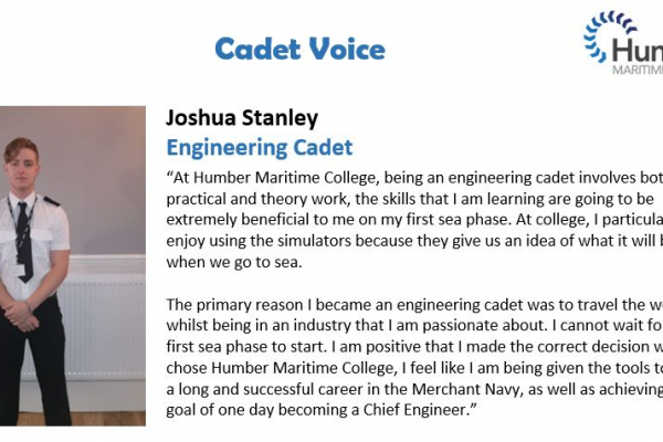 Welcome to our new engineering cadet voice