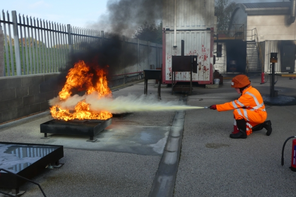 Fire Prevention and Fire Fighting Training