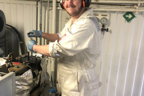 Thomas, one of our engineering cadets, has sent us an update on his time at sea⛴…