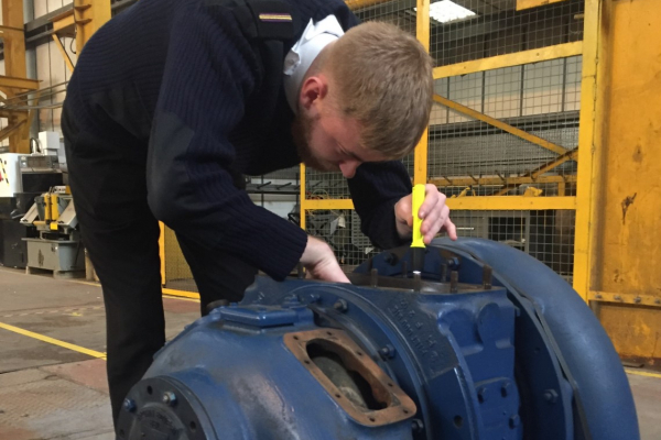 Turbocharger donated to Humber Maritime College
