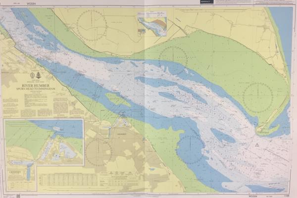 Humber navigational chart